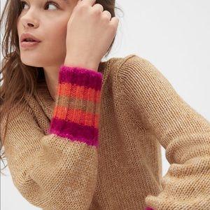 NWT Gap Camel Sweater
